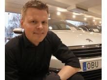 Thomas Bergman servicemarknadschef Peugeot Sverige