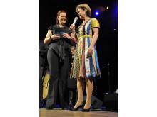 Kulturminister Lena Adelsohn Liljeroth delade ut Framtidspriset