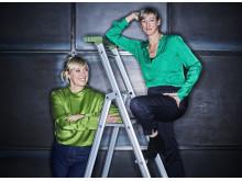 Sanna Hederus och Åsa Kallstenius, chefsarkitekter, Kod Arkitekter
