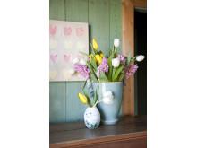 Vårliga blomsterlöksbuketter