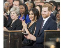 Följ med bakom kulisserna och se förberedelserna inför det brittiska kungliga bröllopet