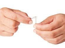 Synål med smart nålsöga