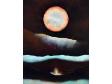 Isak Hall, Utan titel, 2019, tempera och olja på pannå, 160 x 132 cm