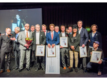 Pristagarna på The Collector´s Award 2015 Antikmässan