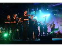 Ethnostråket uppträdde på Väsby melodifestival 2013
