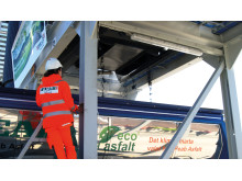 ECO-Asfalt minskar betydligt miljöpåverkan