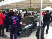 Team 5 med bland andra Cegerblads Bil.