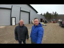 F.v. Pål Even Thomassen og Jørgen Johansen.