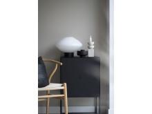 Bordlampe 4280 Hvit opal