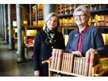 Kathrin Flossing och Gunilla Herdenberg