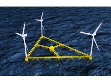 SSAB och Hexicon i samarbete för att utveckla flytande plattformar för vindkraft