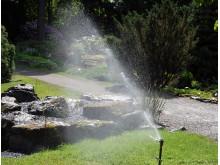Vanning i hage, vanning av plen