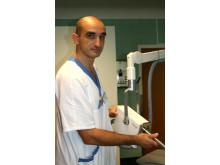 Calin Radu, chef för strålbehandlingen på Akademiska sjukhuset