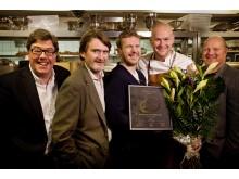 Juryn tillsammans med Klas Ljungquist och Johan Jureskog på AG
