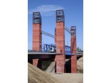 Nya järnvägsbron Södertälje