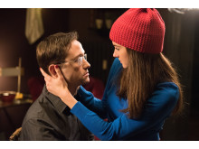 Joseph Gordon Levitt och Shailene Woodley i filmen Snowden