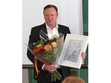 Timo Trolin Kalmar Läns vinnare av SKAPA utvecklingspris 2016