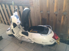 A moped recovered at an address in Riversdale Road, N5