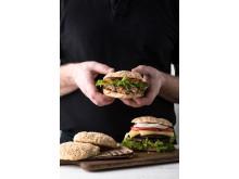 Glutenfri hamburgerbrod