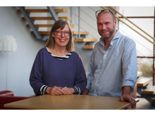 Lena Hansson Varhegyi och Joakim Strand