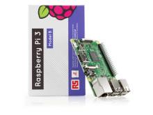 Raspberry Pi med förpackning