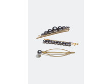 Hair Clips (3-pack)
