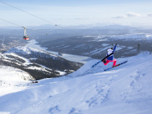 Lekfull skidåkning på Åreskutan - Playful skiing at Åreskutan