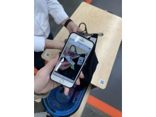Decathlon Mobile Checkout Station und NewStore Associate App