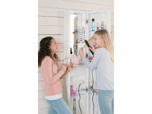 Function Glow high mirror cabinet