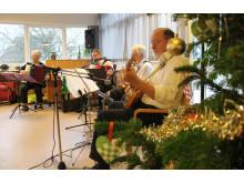 Julens melodier skabte den rette julestemning