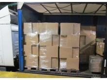 SE 07.17 Boxes containing smuggled cigarettes