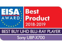 EISA Award Logo UBP700