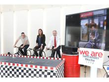 Bild 1_Santander-Woche 2017_Fahrrad Challenge