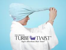 Turbie Twist hårhåndklæde