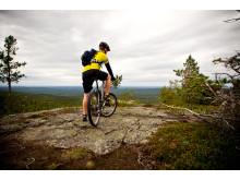 Ruska mountain biking
