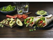 Glutenfri Tortilla-wrap med Tacofärs