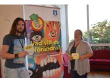 Ungdomskonsulenter på Älvsåkersskolan_Barbrobetalar-kampanj