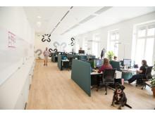 Großraumbüro der kununu GmbH