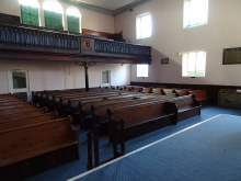 High res image - Routes to Roots - Hill Street Pews