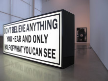 Gardar Eide Einarsson, Don't Believe Anything You Hear [Tro inte på någonting du hör], 2010