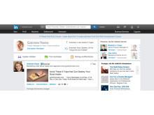 LinkedIn: Homepage Update