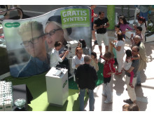 Specsavers Gratis syntest-turné