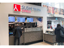 Sushi Yama Express, ICA Maxi Hälla
