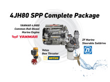Hi-res image - YANMAR - YANMAR 4JH80 SPP (Steerable Propulsion Pod) complete package