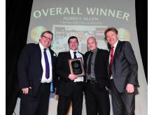 England's Best Innovative Steak - Overall Winner - Aubrey Allen
