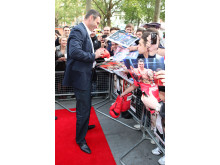 Vitali Klitschko vid premiären av Klitschko