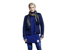 Viktoria Helgesson visar H&M OS-kollektion 2014