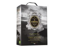 Il Conte Rosso 2017 (2387, 199 kr) - ekologiskt rött kvalitetsvin