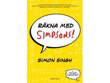 """Omslagsbild """"Räkna med Simpsons"""" av Simon Singh"""