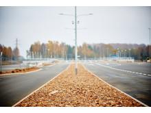 Breda körfält ger bättre trafikflöde